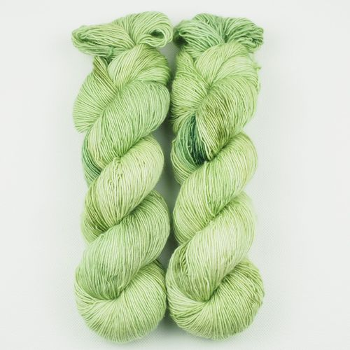 Merino Single - Lindgrün