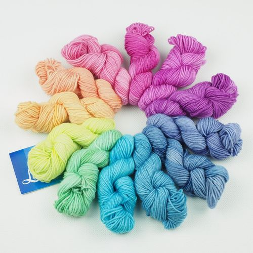 Nebel Spektrum Set - Minis Socks 12 x 10g